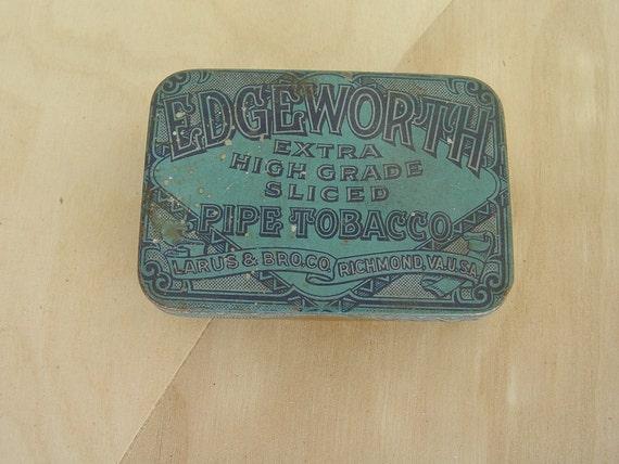 Edgeworth Pipe Tobacco Tin