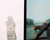 Tower and Rain 8x10 Print