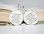 Best friend necklace set wood best friend jewelry Customized jewelry nature lover gifts reclaimed wood gift friendship gift, best friends