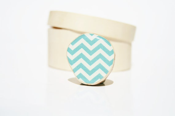 Blue Chevron ring eco fashion adjustable cocktail ring geometric jewelry Minimalist jewelry Chunky ring gift for her