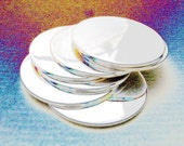 1 Inch 18 Gauge STERLING SILVER Discs Hand Stamping DISCS Metal Blanks Qty 1 Disc