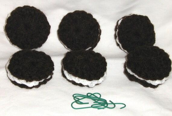 Oreo cookie ornaments 6 pcs.
