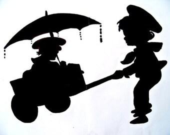 Umbrella Wagon