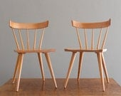 Paul McCobb for Winchendon Side Chairs Planner Group Pair