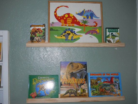 Picture Rail Shelf Books Pictures Nick Knack Spice rack painted or unpainted by the foot custom or ready to ship