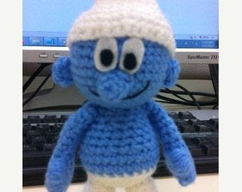 PATTERN Instant Download Smurf  Crochet Doll Amigurumi