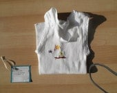 Hand Embroidered Baby Singlet- Day of the Triffids