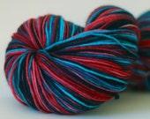 """Merino Sock Yarn 100%, """"Lush Life"""""""