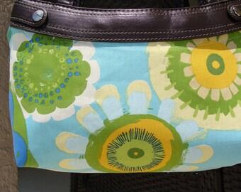 Bright Beauties Skirt purse Cover handmade thirty one skirt purse cover