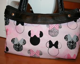 Minnie Mouse Pink skirt Purse Skirt thirty one handmade
