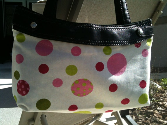 Crazy dots Skirt for Thirty One purse