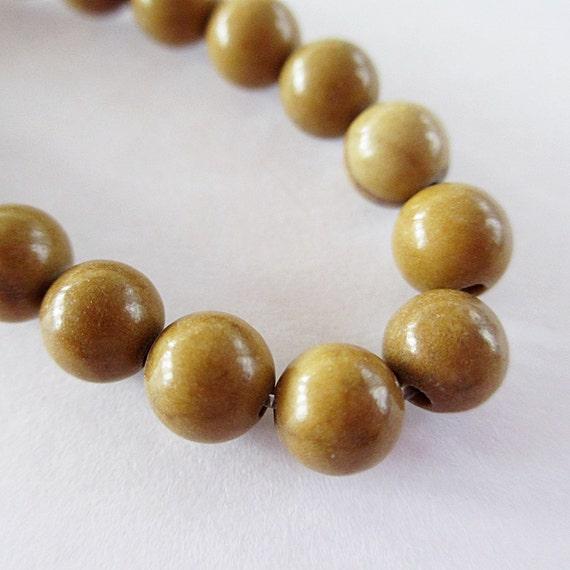"""Wood Grain Jasper Round Beads Gemstone 15 1/3"""" 6mm STR247"""