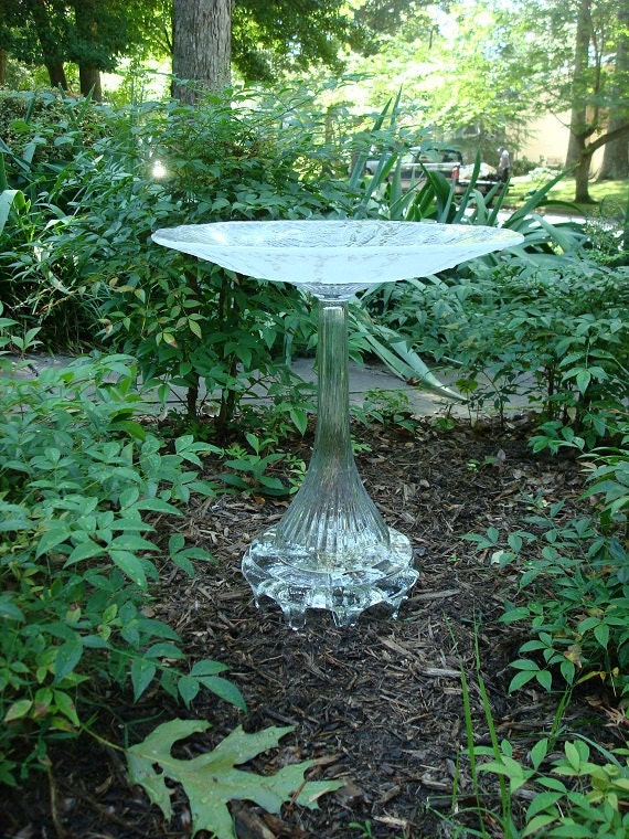 Elegant One Of A Kind Bird Bath The Ava Is