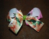 Disney Handmade Tinkerbell Boutique Bow  / Hair Clip
