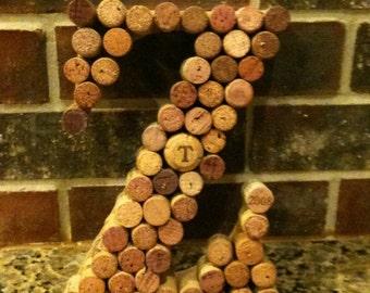Wine Cork Decor Letters - Letters A-Z
