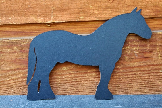 Horse Chalkboard Photo Prop, Equine, Rustic Country Wedding, Western Noteboard, Black Horse Silhouette, Horse Cutout