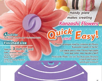 Kanzashi Flower Maker - Gathered Petal Large - Clover 8485