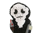 Pocket Monster Ode to Ghostface, Perfect for Halloween, Wes Craven, Scream and Horror Fans