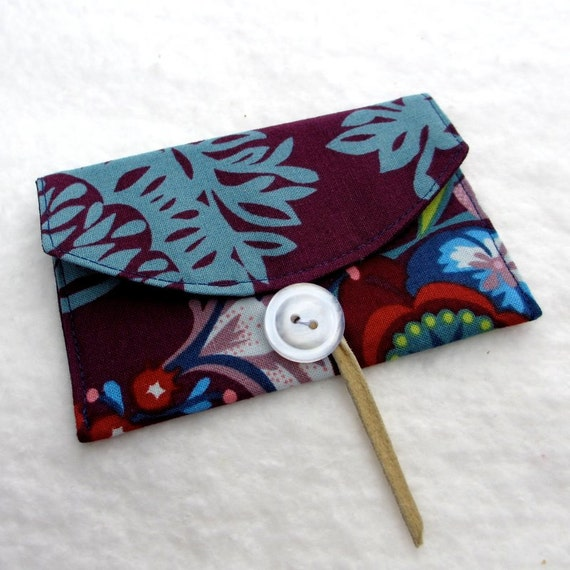 Card Case / Business Card / Gift Card Fabric