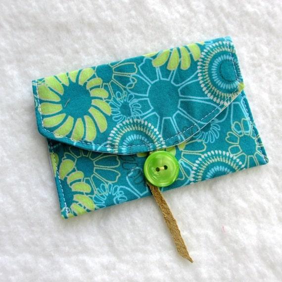 Retro Card Case / Business Card / Gift Card Fabric
