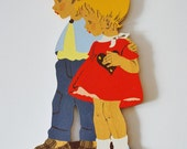Hansel and Gretel Baby Nursery or Child's Room Wall Plaque