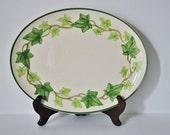 SALE Franciscan American Ivy Oval Serving Platter 13 Inch