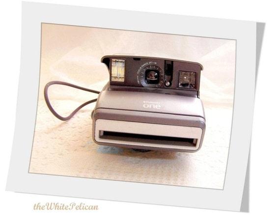 Polaroid Film Camera - Polaroid Land Camera - Polaroid 600 instant camera  Polaroid One  film camera...LAST One MADE, a CLASSIC