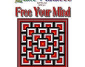 FREE YOUR MIND - Quilt-Addicts Patchwork Quilt Pattern