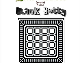 BLACK BETTY - Quilt-Addicts Patchwork Quilt Pattern