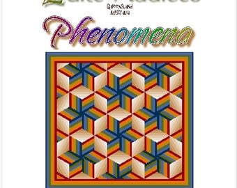 PHENOMENA - Quilt-Addicts Patchwork Quilt Pattern