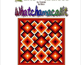 WHATCHAMACALLIT - Quilt-Addicts Patchwork Quilt Pattern