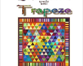 TRAPEZE - Quilt-Addicts Patchwork Quilt Pattern