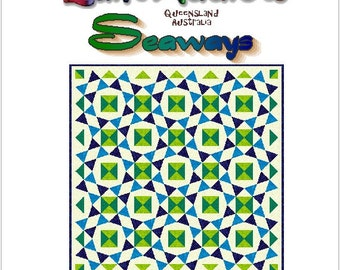 SEAWAYS - Quilt-Addicts Patchwork Quilt Pattern