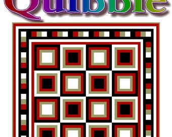 QUIBBLE - Quilt-Addicts Patchwork Quilt Pattern