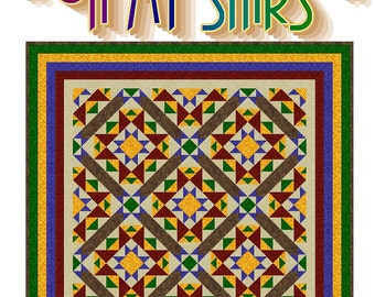 OH MY STARS - Quilt-Addicts Patchwork Quilt Pattern