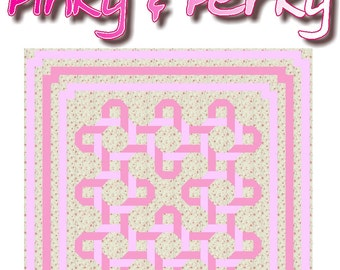 PINKY & PERKY - Quilt-Addicts Patchwork Quilt Pattern