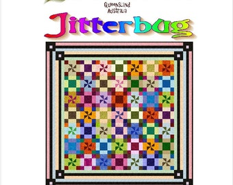 JITTERBUG - Quilt-Addicts Patchwork Quilt Pattern