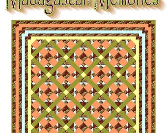 MADAGASCAN MEMORIES - Quilt-Addicts Patchwork Quilt Pattern
