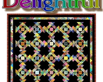 DELIGHTFUL - Quilt-Addicts Patchwork Quilt Pattern