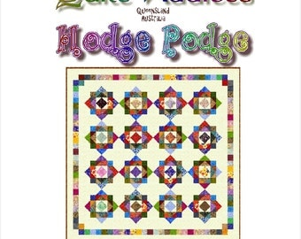 HODGE PODGE - Quilt-Addicts Patchwork Quilt Pattern