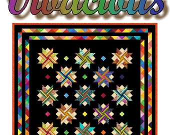 VIVACIOUS - Quilt-Addicts Patchwork Quilt Pattern