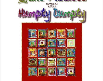 HUMPTY DUMPTY - Quilt-Addicts Patchwork Quilt Pattern