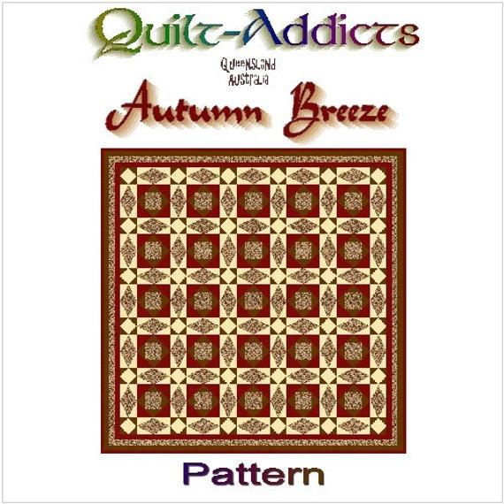 AUTUMN BREEZE - Quilt-Addicts Patchwork Quilt Pattern