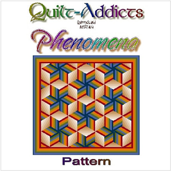 PHENOMENA - Quilt-Addicts Patchwork Quilt Pattern