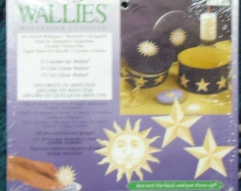 Wallies Wallpaper Cutouts - 25 Celestial Sky, Wallies 12140,  Crafts, Scrapbooking