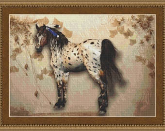 Cross Stitch Pattern Tranquil Horse Cross Stitch Pattern / Design