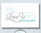 Premade Logo and Watermark...Pre made logo design...Premade Photography Logo