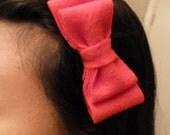 Felt Bow Hair Headband -Free Shipping