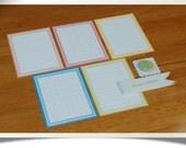 "SALE 50% OFF Journaling Cards & badge set ""Ledger 2"" - Project Life - Scrapbooking"