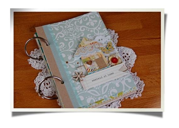 "SALE 50% OFF Mini Album / Journal Kit ""Everyday"" - Scrapbooking -"